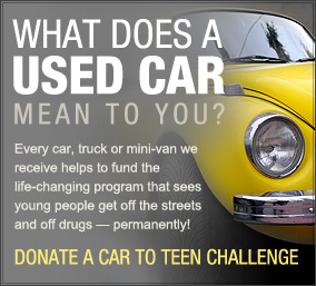 Teen Challenge Vehicle Donation
